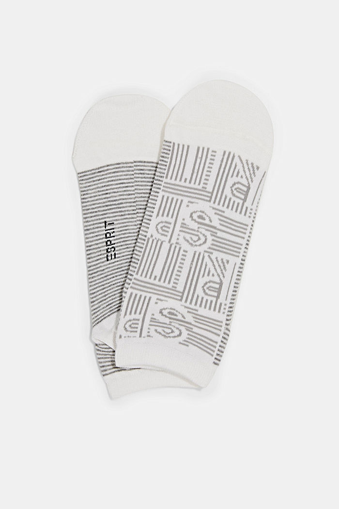 Blended cotton trainer socks