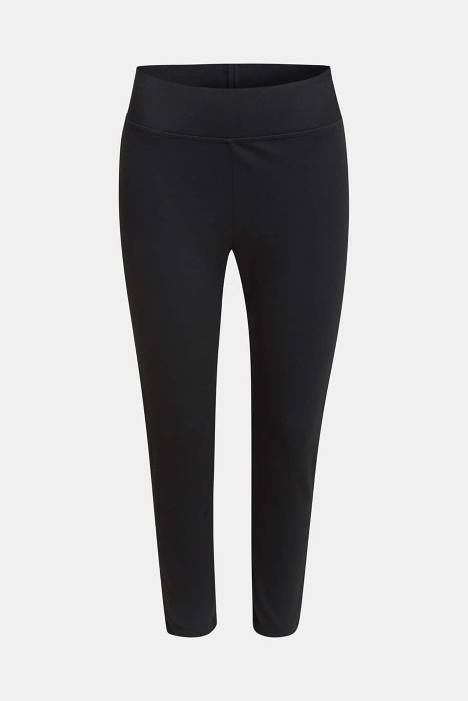 Esprit - Ankle-length leggings with a comfy waistband