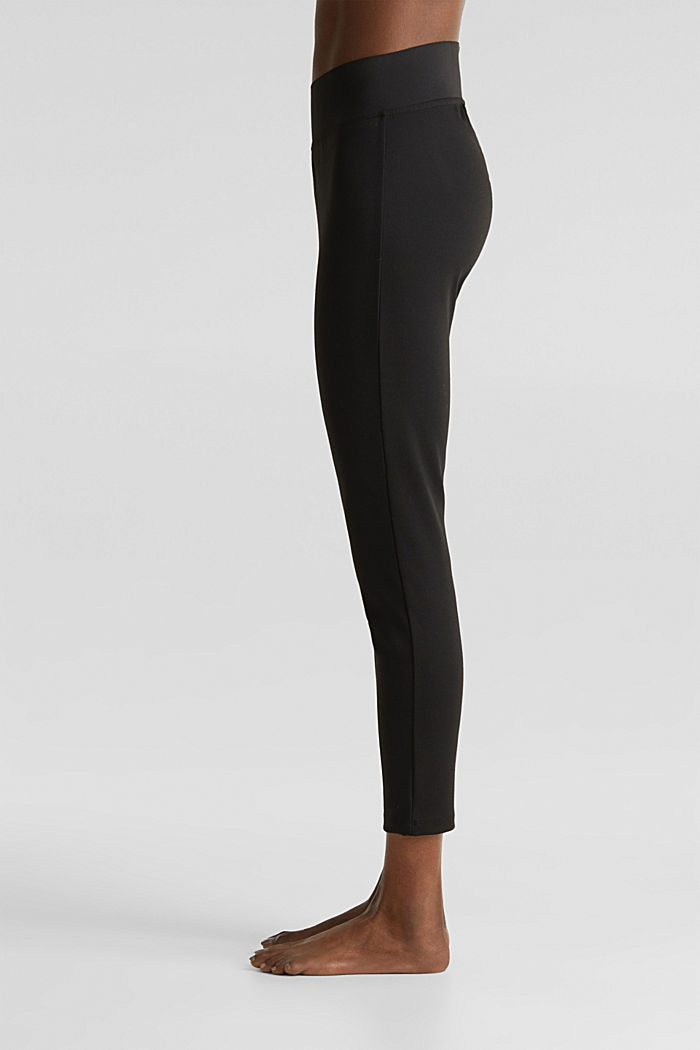 Ankle-length leggings with a comfy waistband