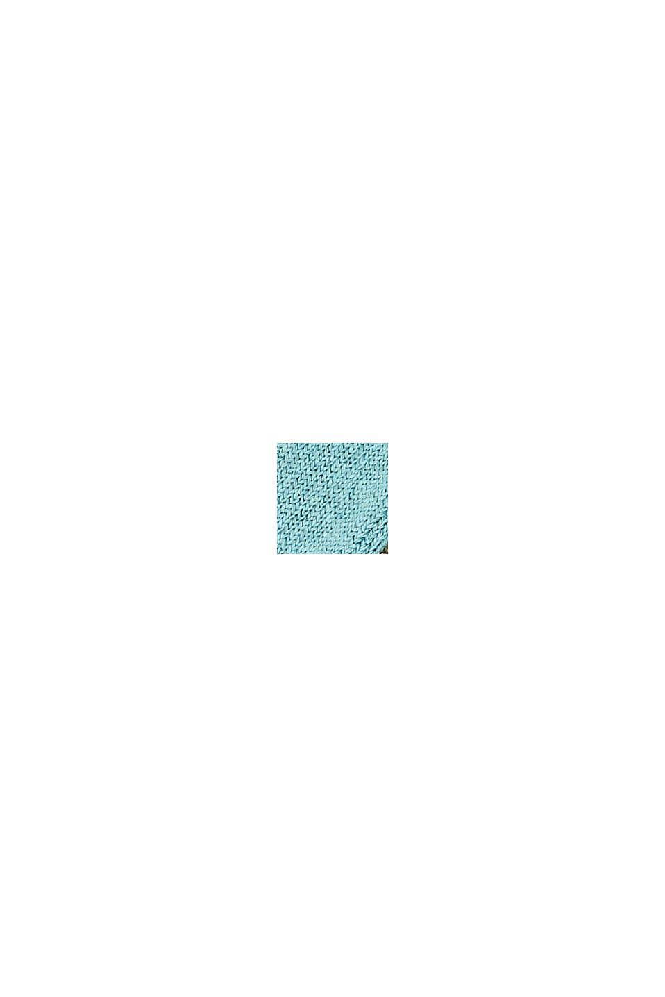 Calze corte con suola in spugna in confezione doppia, MINT/KHAKI, swatch