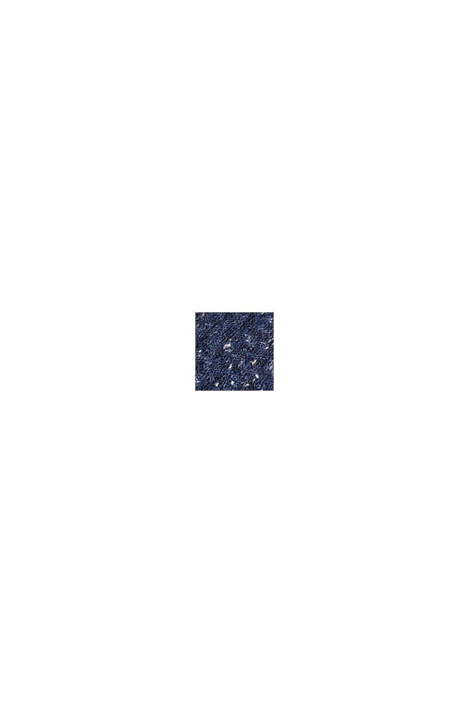 Con seta: calze strutturate in confezione tripla, NAVY/GREY, swatch