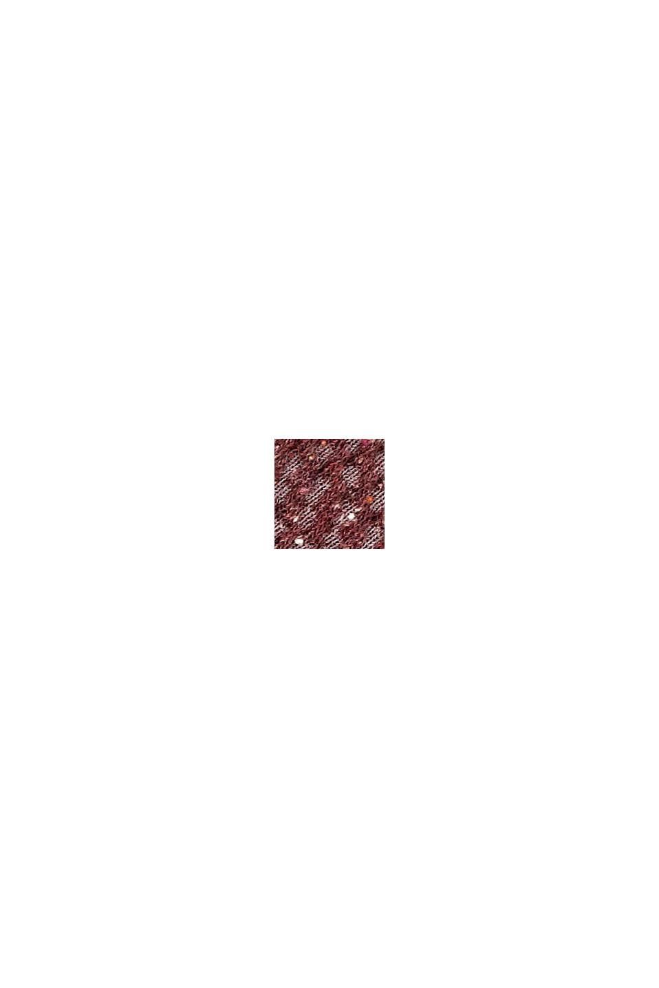 Con seta: calze strutturate in confezione tripla, BROWN/BEIGE, swatch
