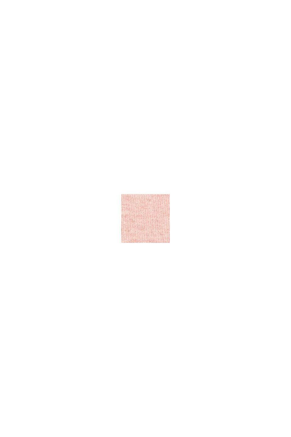 Calze in confezione da 5 con bordino arrotolato, ROSE/RED, swatch
