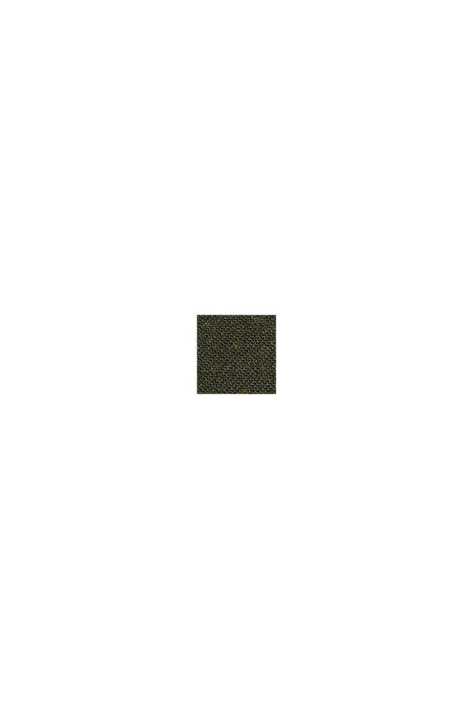 Calze con bordino effetto a conchiglia, in misto cotone, MILITARY, swatch