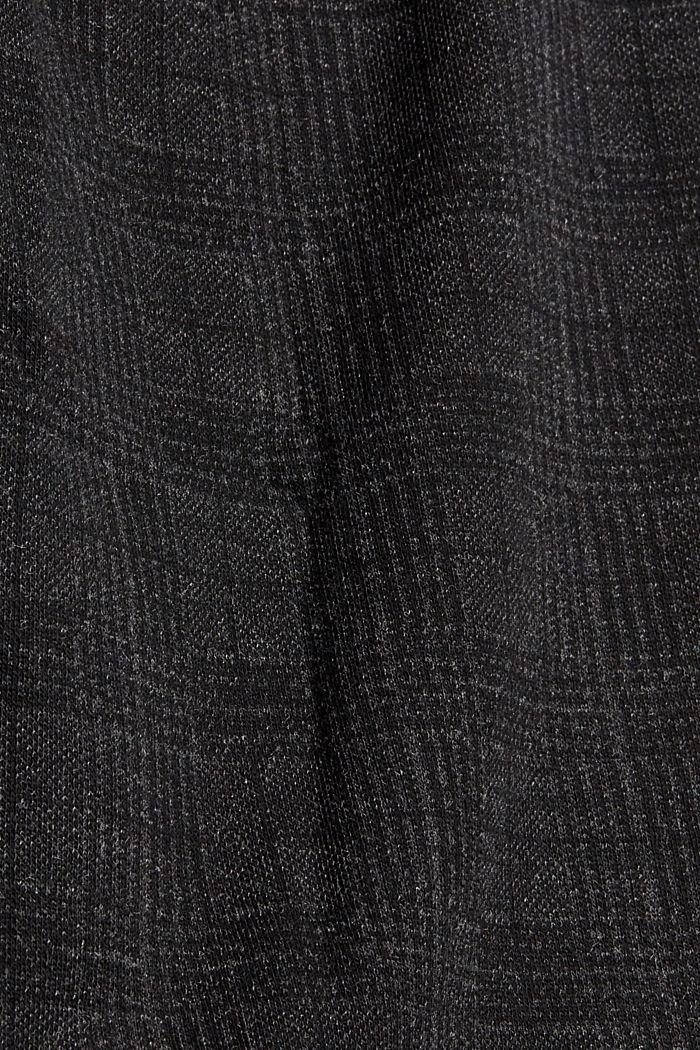 Leggings à carreaux prince de galles, BLACK, detail image number 3