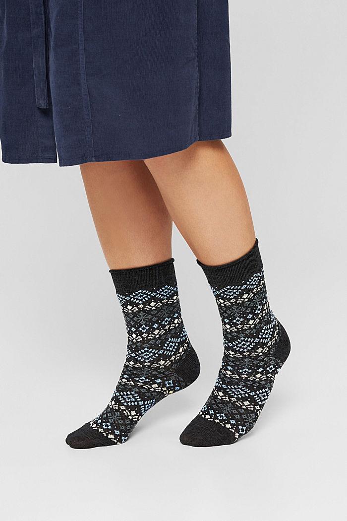 Pack de 2 pares de calcetines con diseño noruego