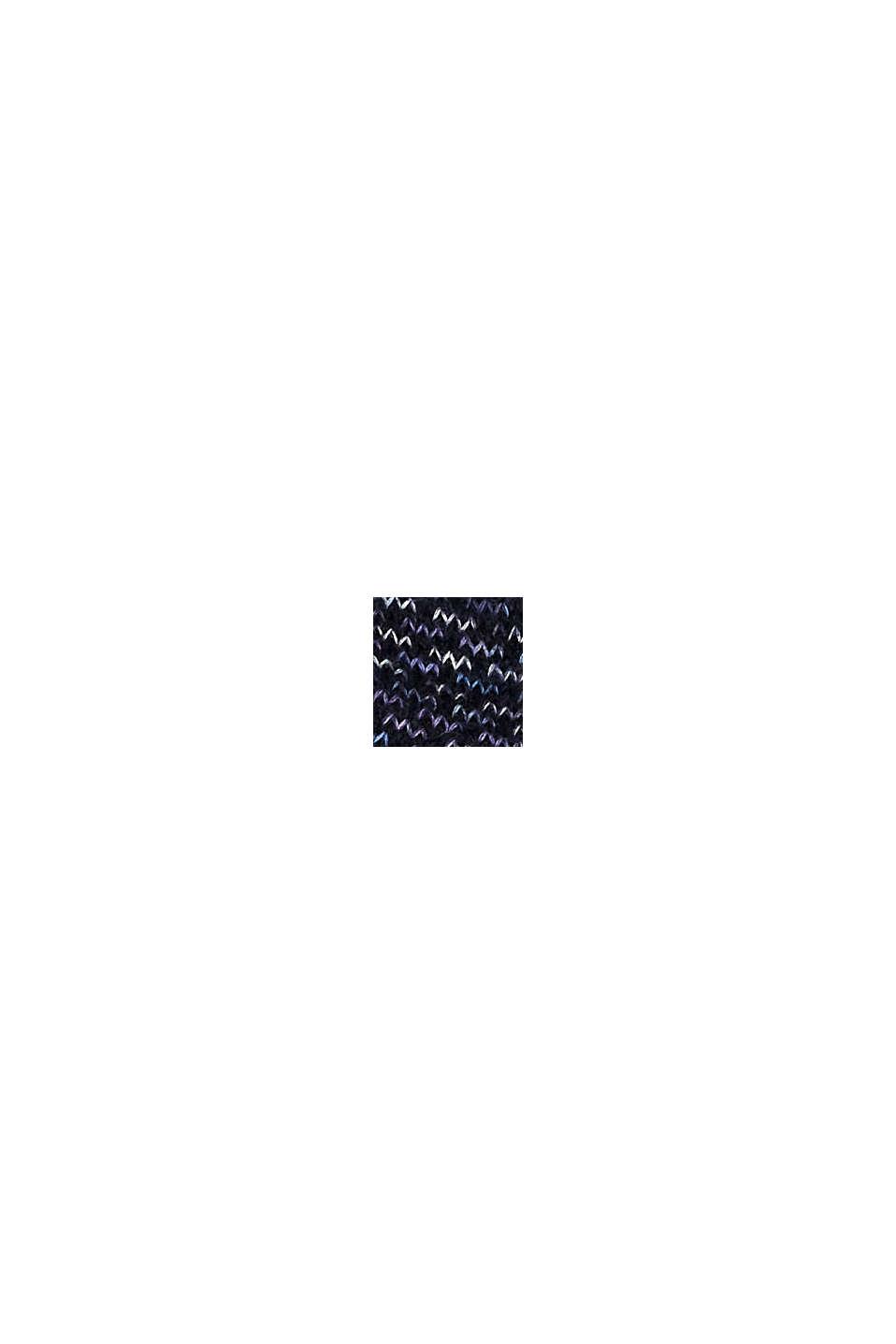 Met wol: sokken met patroon, MARINE, swatch