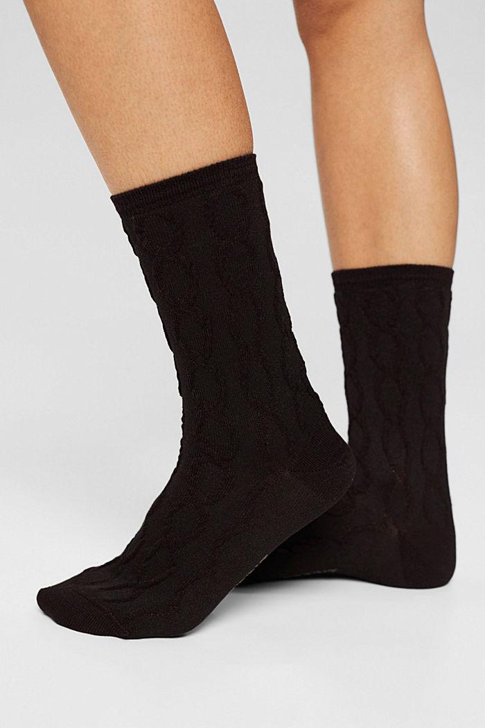 Pakke m. 3 par sokker i gaveindpakning