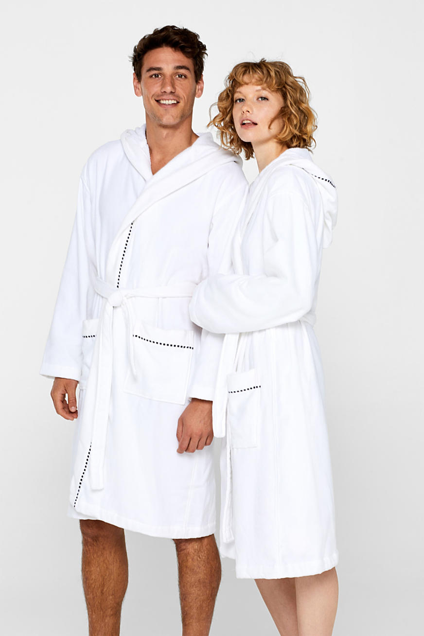 Unisex bathrobe, 100% cotton
