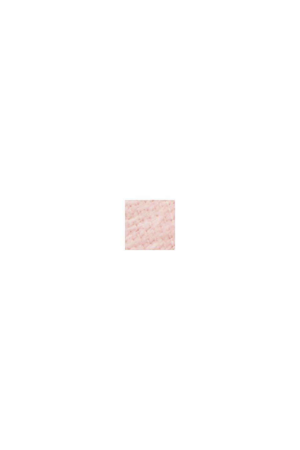 Velours badjas, 100% katoen, ROSE, swatch