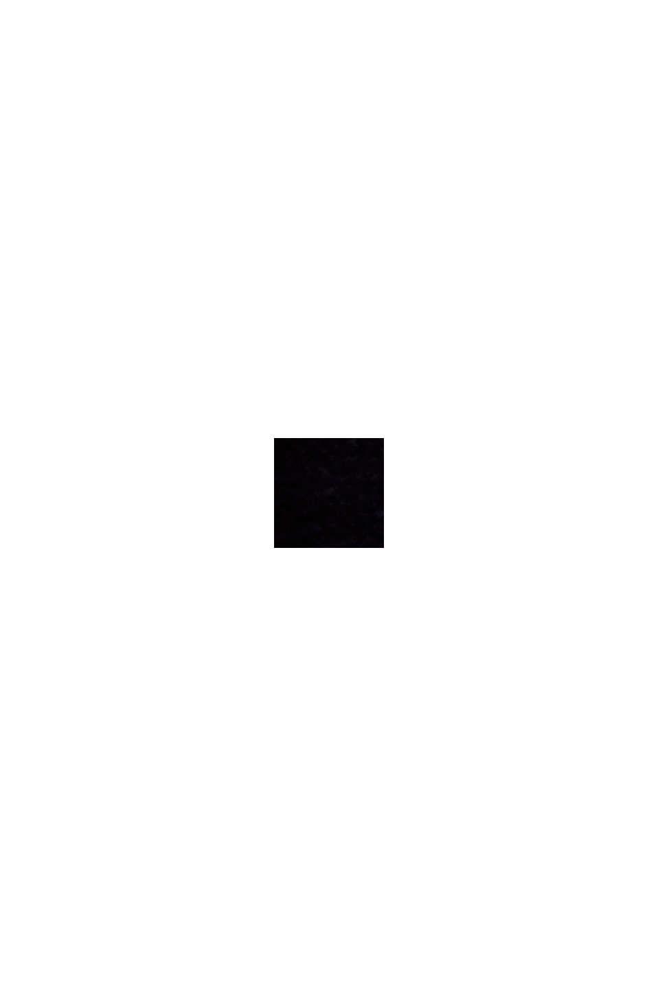 Velour-badekåbe, 100% bomuld, NAVY BLUE, swatch