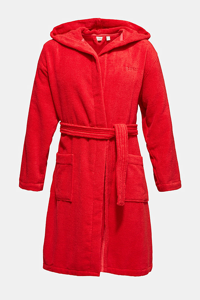 Unisex bathrobe made of 100% cotton