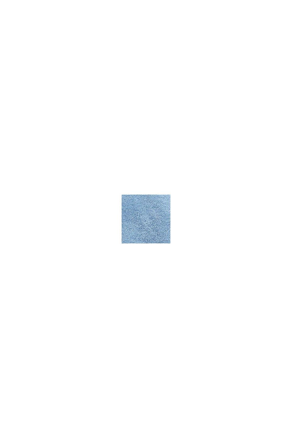 Unisex-badekåbe af 100% bomuld, SKY BLUE, swatch