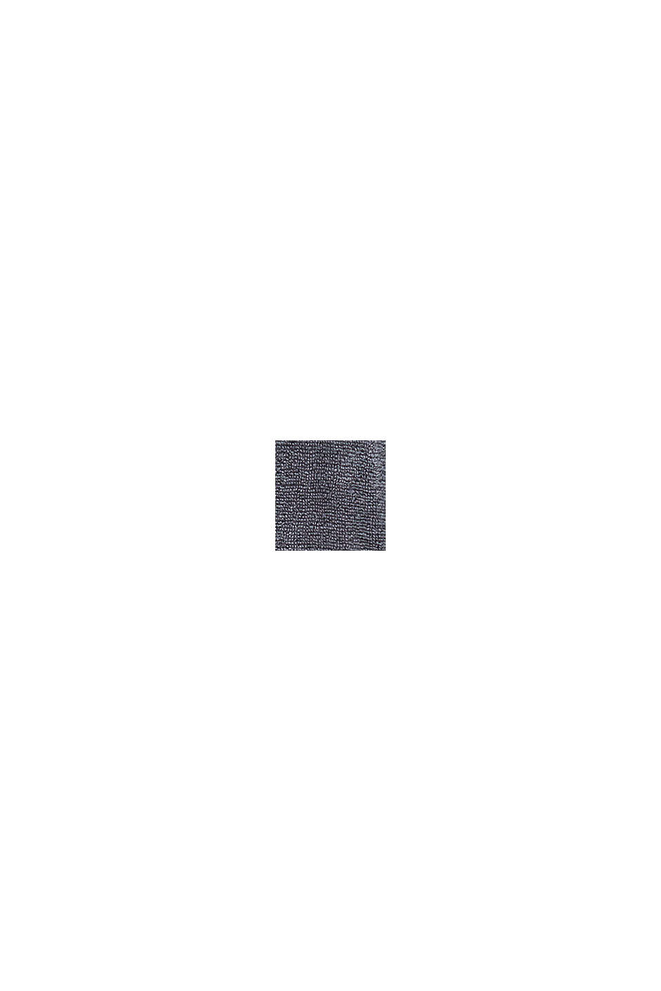 Unisex-badekåbe af 100% bomuld, GREY STEEL, swatch