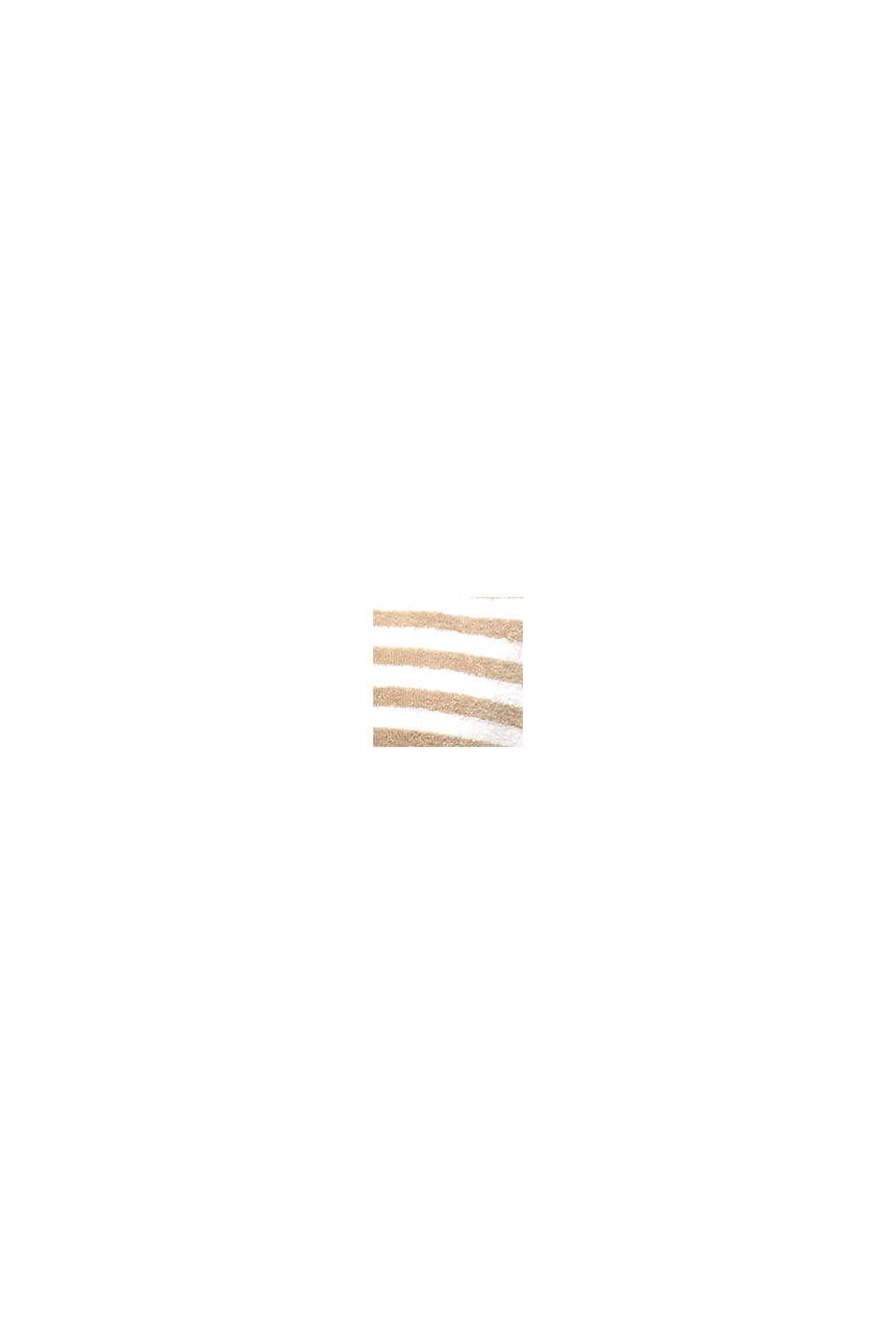 Frotté-badekåbe med striber, MOCCA, swatch
