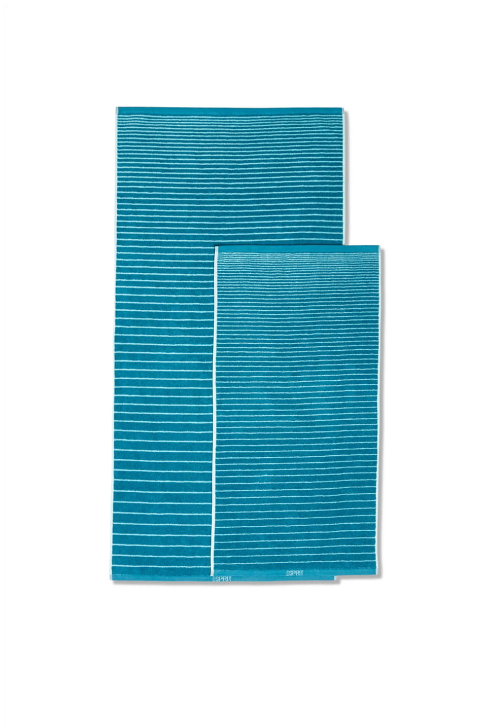 Terry cloth towel, 100% cotton, TURQUOISE, detail image number 2