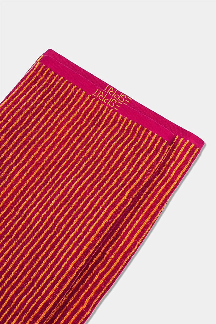Terry cloth towel, 100% cotton, RASPBERRY, detail image number 3