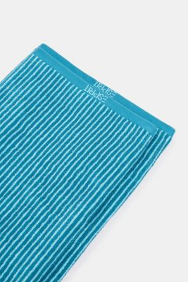 Terry cloth towel, 100% cotton, TURQUOISE, detail