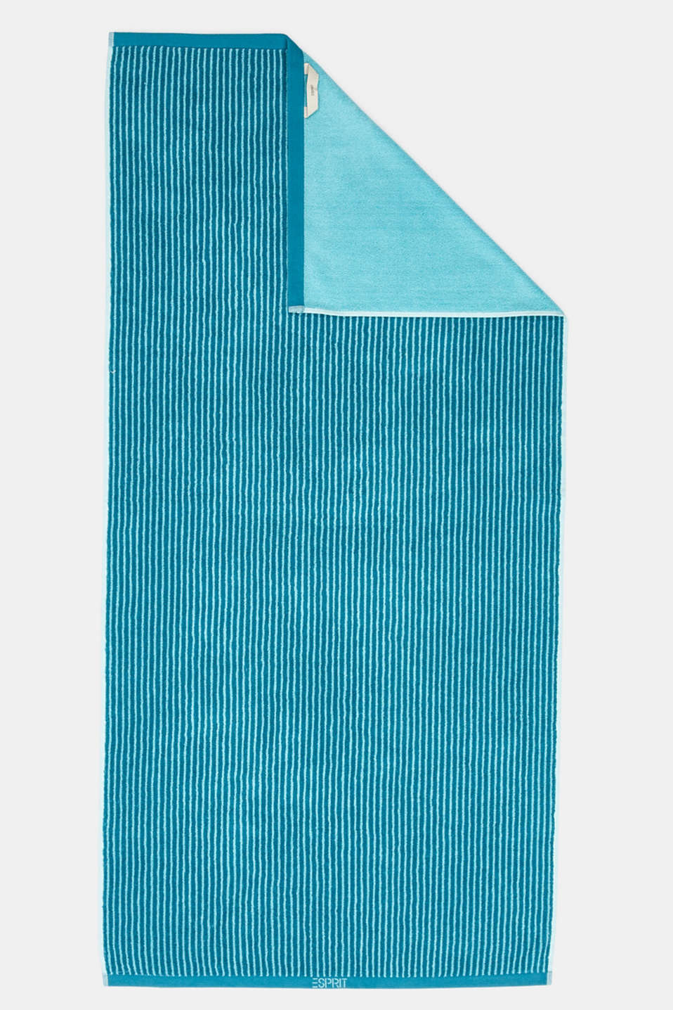 Terry cloth towel, 100% cotton, TURQUOISE, detail image number 3