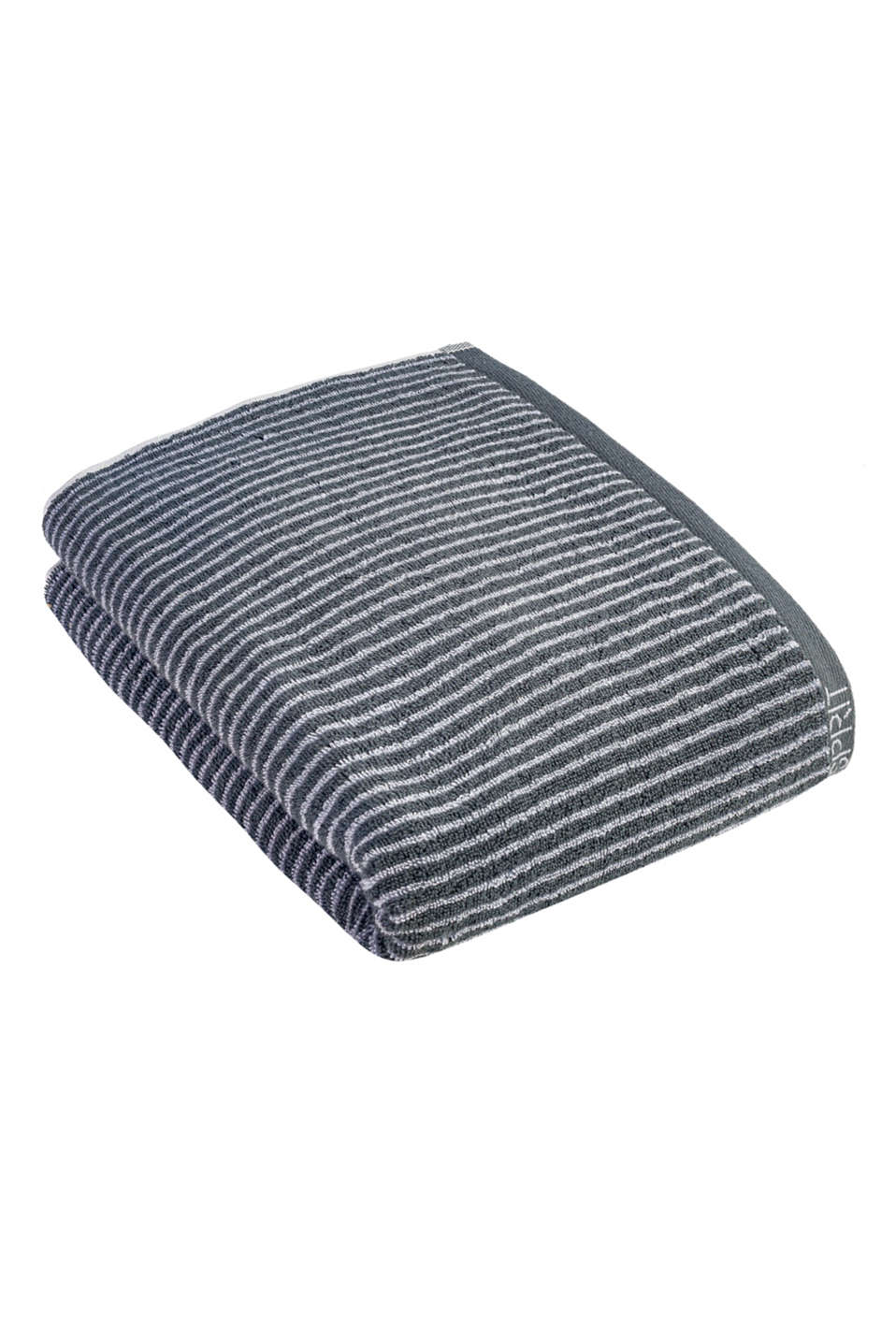 Terry cloth towel, 100% cotton, SILVER, detail image number 0