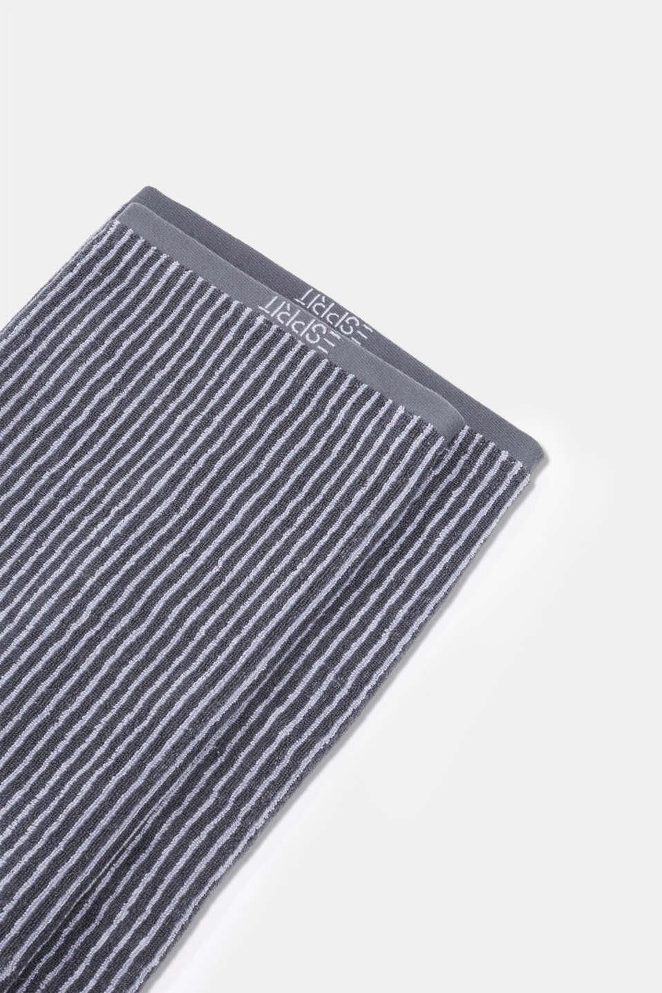 Terry cloth towel, 100% cotton, SILVER, detail image number 4