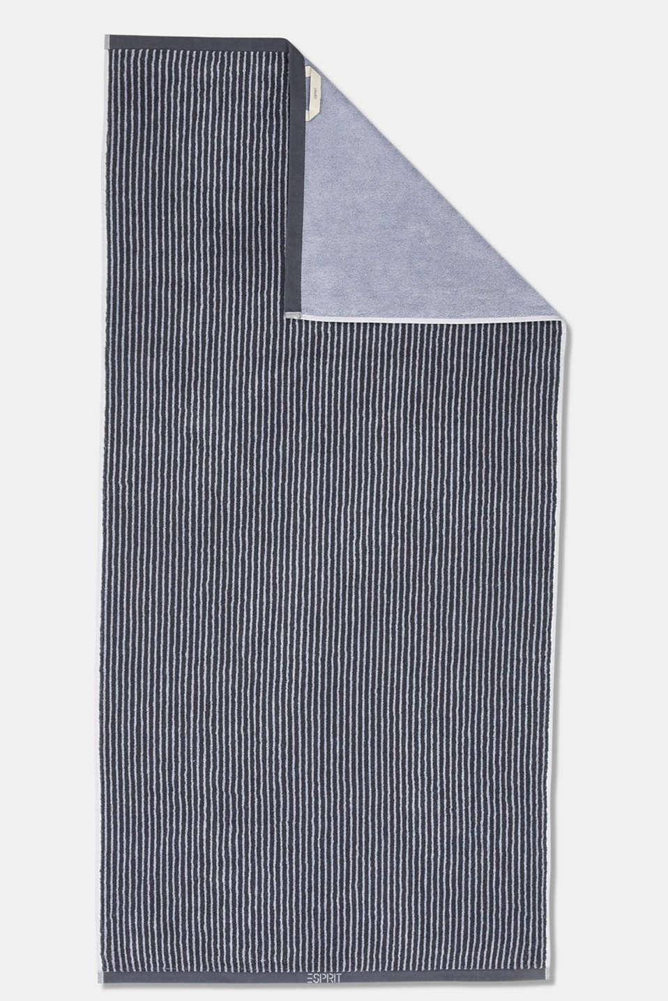 Terry cloth towel, 100% cotton, SILVER, detail image number 3
