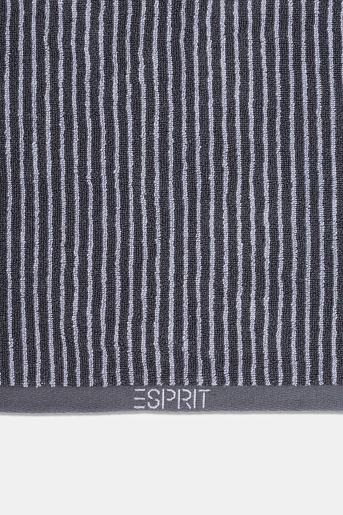 Terry cloth towel, 100% cotton, SILVER, detail image number 1