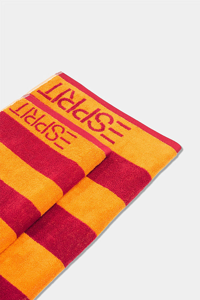 Terrycloth towel, 100% cotton, RASPBERRY, detail image number 3