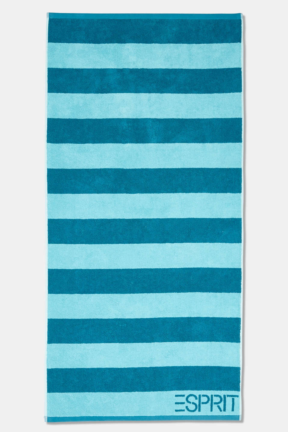 Terry cloth towel, 100% cotton, TURQUOISE, detail image number 5