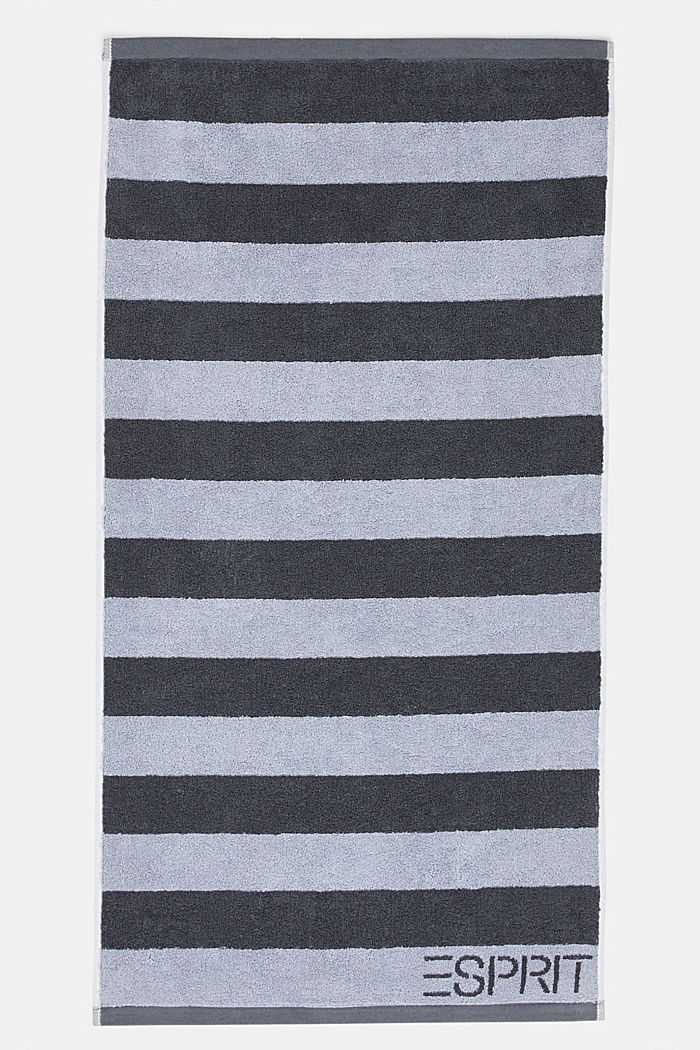 Terrycloth towel, 100% cotton, SILVER, detail image number 5