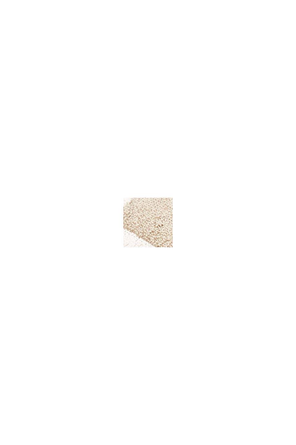 Handtuch aus Frottee, 100% Baumwolle, SAND, swatch