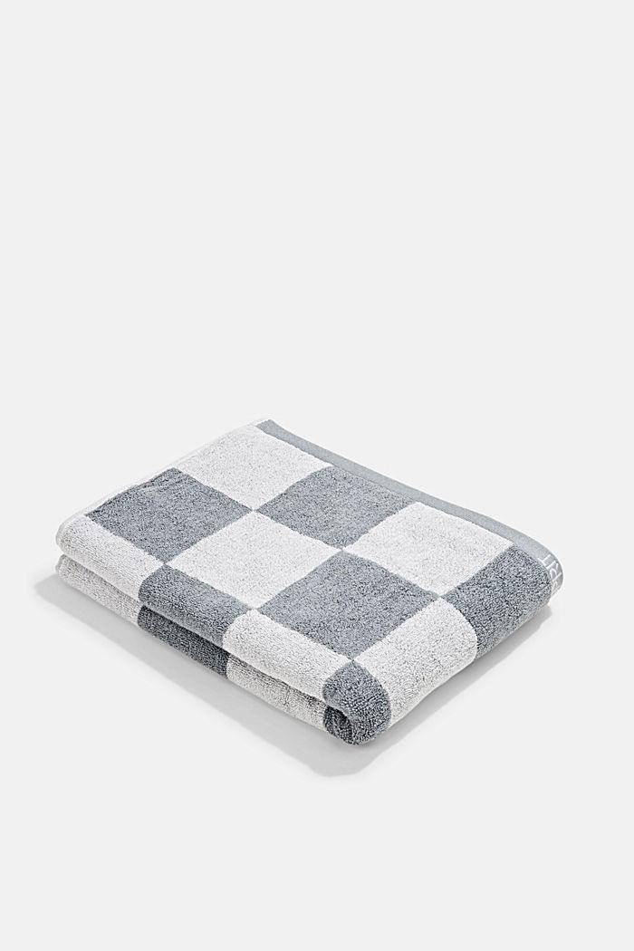 Toalla de rizo, 100% algodón, STONE, detail image number 0