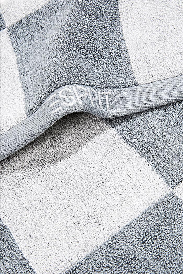 Toalla de rizo, 100% algodón, STONE, detail image number 1