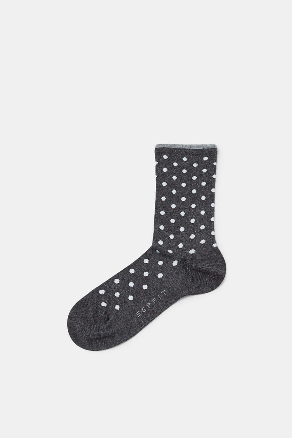 Esprit - Melange socks with polka dots