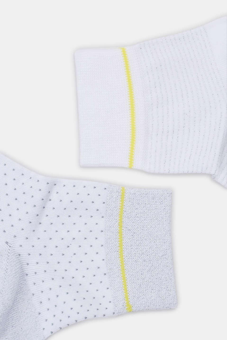 Socks, WHITE, detail image number 1