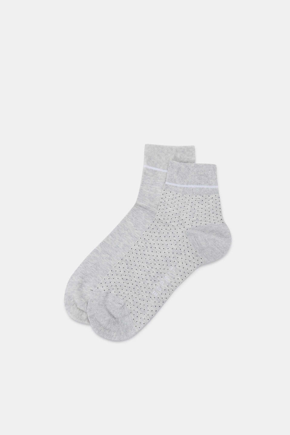 Esprit - 2-pack of socks with glitter detail