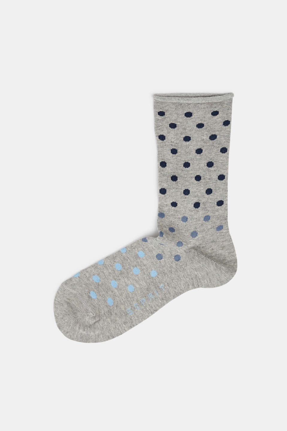 Polka dot socks, LIGHT GREY, detail image number 0