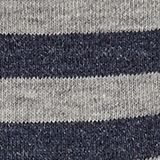 Socks with a melange striped pattern, LIGHT GREY, swatch