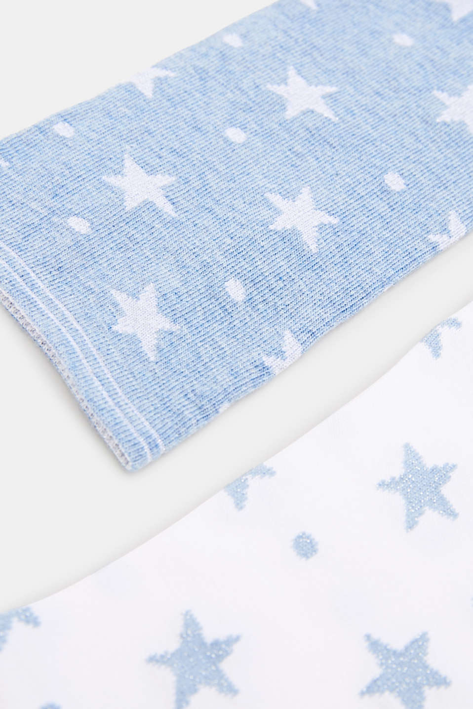 2-pack of socks with glitter accents, SORTIMENT, detail image number 1