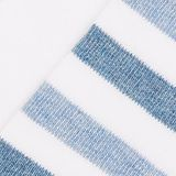 Double pack: socks with stripes and contrasting details, WHITE, swatch