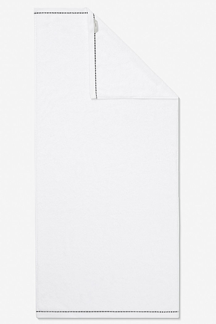 With TENCEL™: terry cloth towel collection, WHITE, detail image number 5