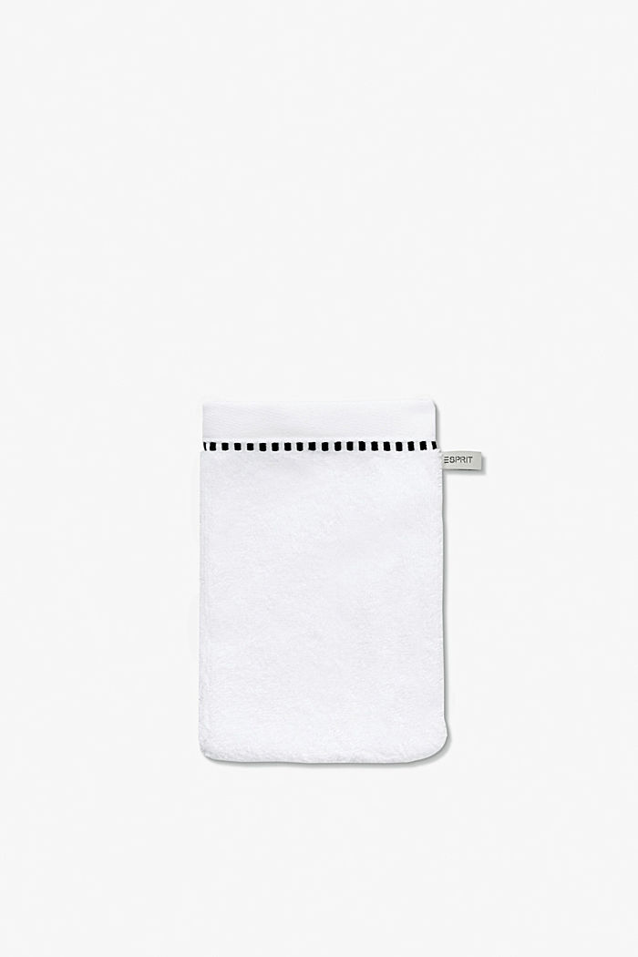 With TENCEL™: terry cloth towel collection, WHITE, detail image number 6