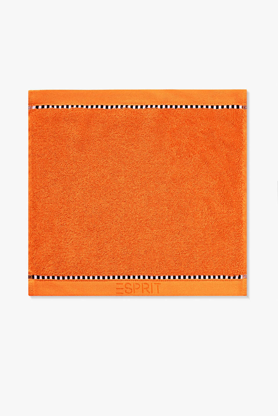 With TENCEL™: Terrycloth towel collection, MANDARIN, detail image number 6