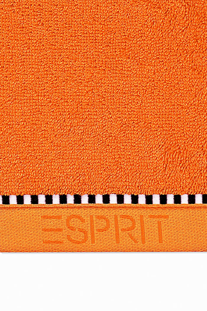 With TENCEL™: terry cloth towel collection, MANDARIN, detail image number 1