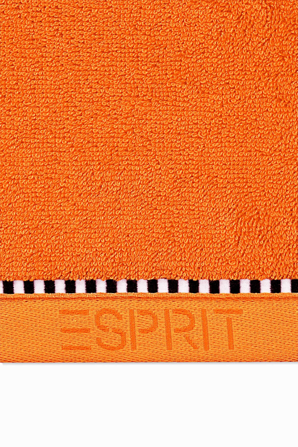 With TENCEL™: Terrycloth towel collection, MANDARIN, detail image number 1