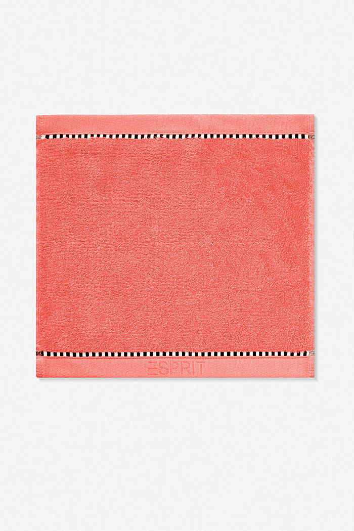 With TENCEL™: terry cloth towel collection, CORAL, detail image number 6