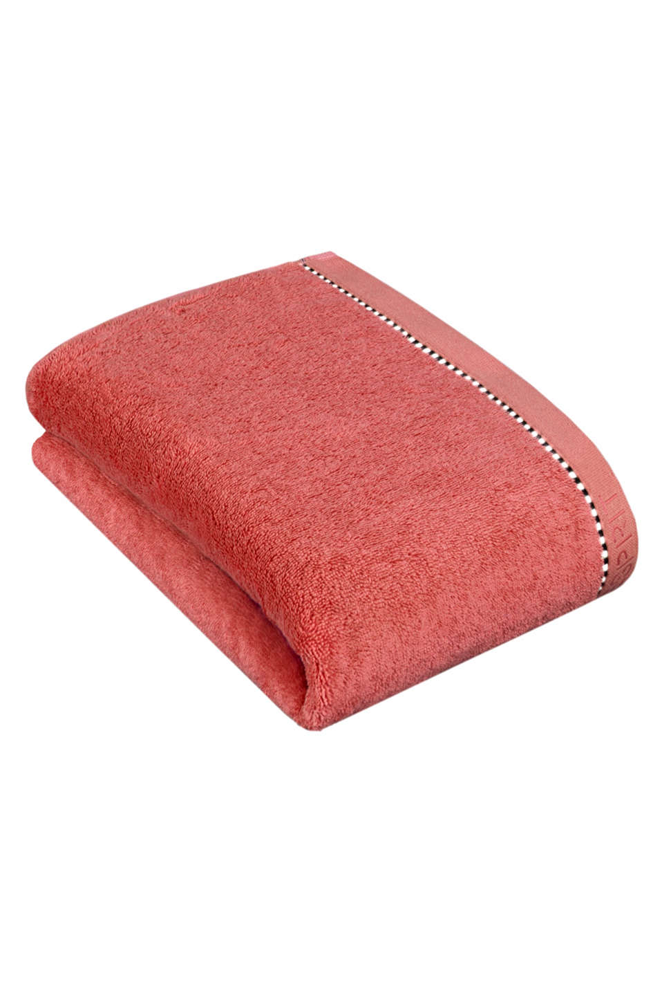 With TENCEL™: Terrycloth towel collection, CORAL, detail image number 2