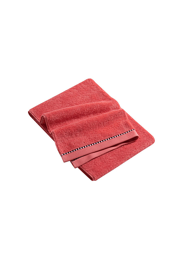 With TENCEL™: terry cloth towel collection, CORAL, detail image number 3