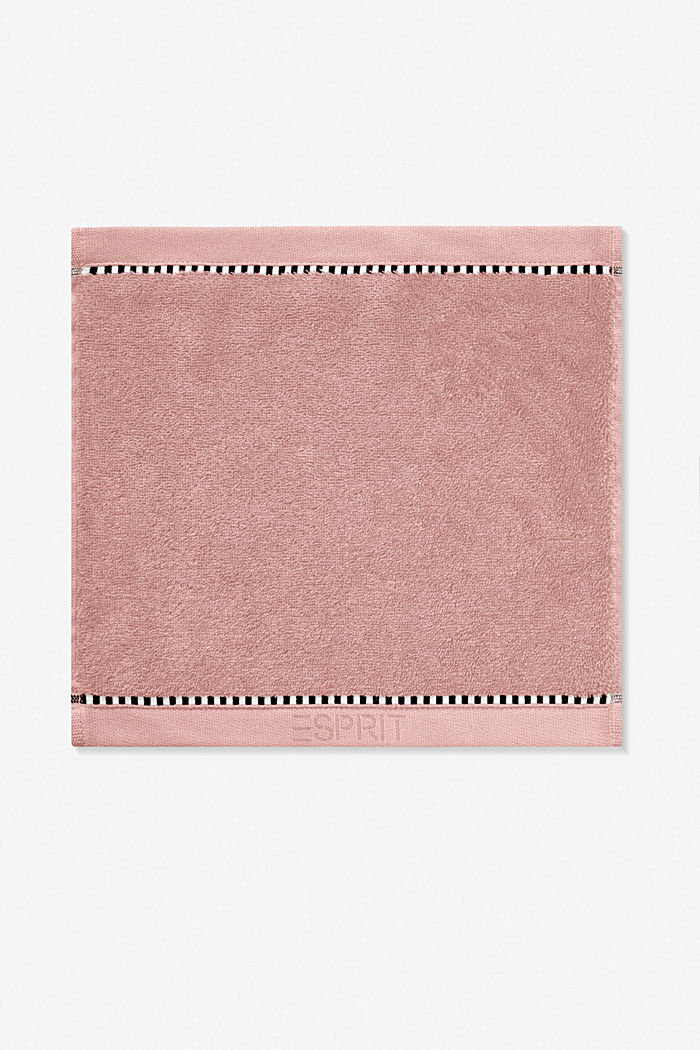 With TENCEL™: terry cloth towel collection, ROSE, detail image number 6