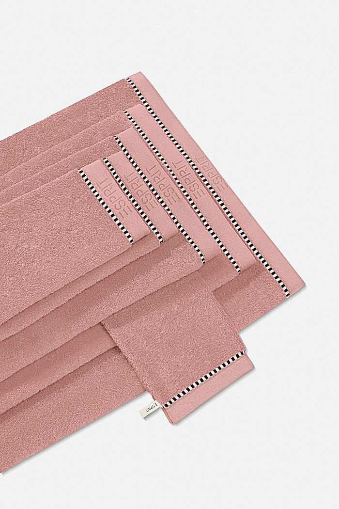 With TENCEL™: terry cloth towel collection, ROSE, detail image number 0